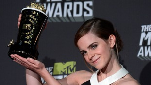 Emma Watson recognised as 'phenomenal young talent' at the MTV Movie Awards
