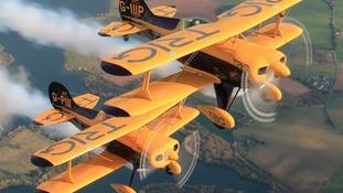 Trig Aerobatic team