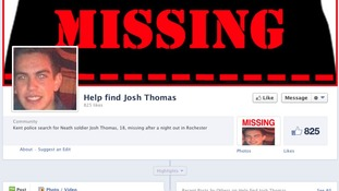 Facebook page appealing for help to find John Thomas