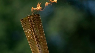 One of the London 2012 torches