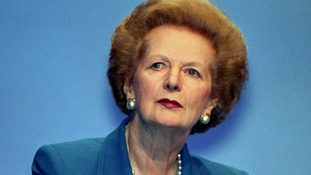 Former Prime Minister Baroness Thatcher pictured in 1996.