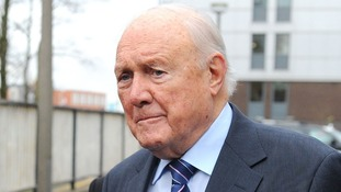 Former It's A Knockout presenter Stuart Hall pictured in February.