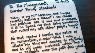 The sweetest resignation letter ever?