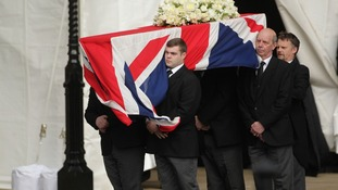 Travel closures for Baroness Thatcher's funeral