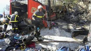 51 people were travelling on the coach at the time of the crash.