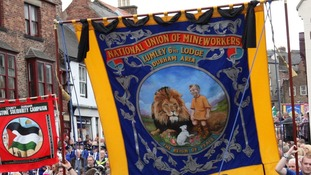 Durham Miners say their event was organised before Margaret Thatcher's death.