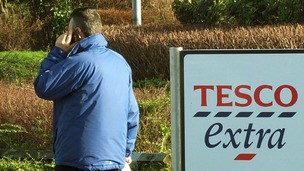 Tesco has announced the first drop in profits for two decades