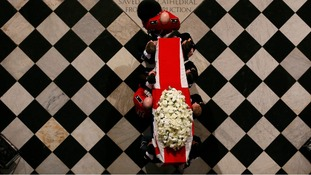 In pictures: Baroness Thatcher's ceremonial funeral