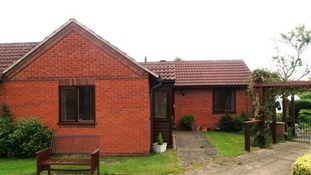 The bungalow in Eaton, Leicestershire