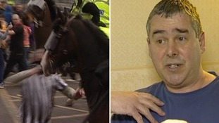 Newcastle 'horse-punch' football fan 'sickened' by his actions