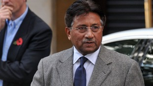Former Pakistan President Pervez Musharraf pictured in London in 2009.