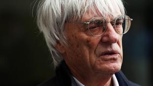 Formula One supremo Bernie Ecclestone.