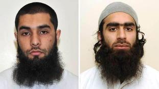 Umar Arshad (left) and Syed Farhan Hussain.