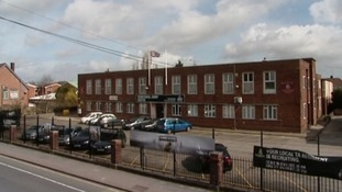 The Territorial Army centre in Luton that the four men planned to target.