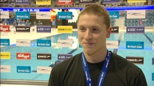 Essex swimmer Poberto Pavoni