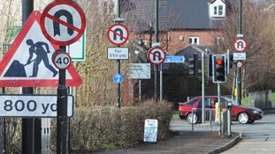 Street Clutter: Too many road signs?