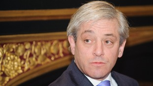The speaker of the House of Commons, John Bercow, told pupils in Cornwall 'parliament is interested'.