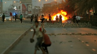 Youths and police skirmish in Bahrain before Grand Prix