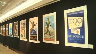 A collection of posters from the sale.