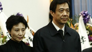 China's former Chongqing Municipality Communist Party Secretary Bo Xilai and his wife Gu Kailai