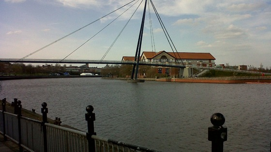The body of the man was found in the River Tees near Quayside Road in Stockton.