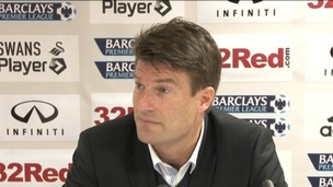 Michael Laudrup press conference