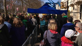 The Metropolitan Police say the measure aims to reassure participants.