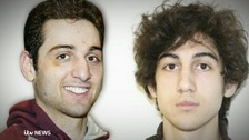 Suspects Tamerlan and Dzhokar Tsarnaev.
