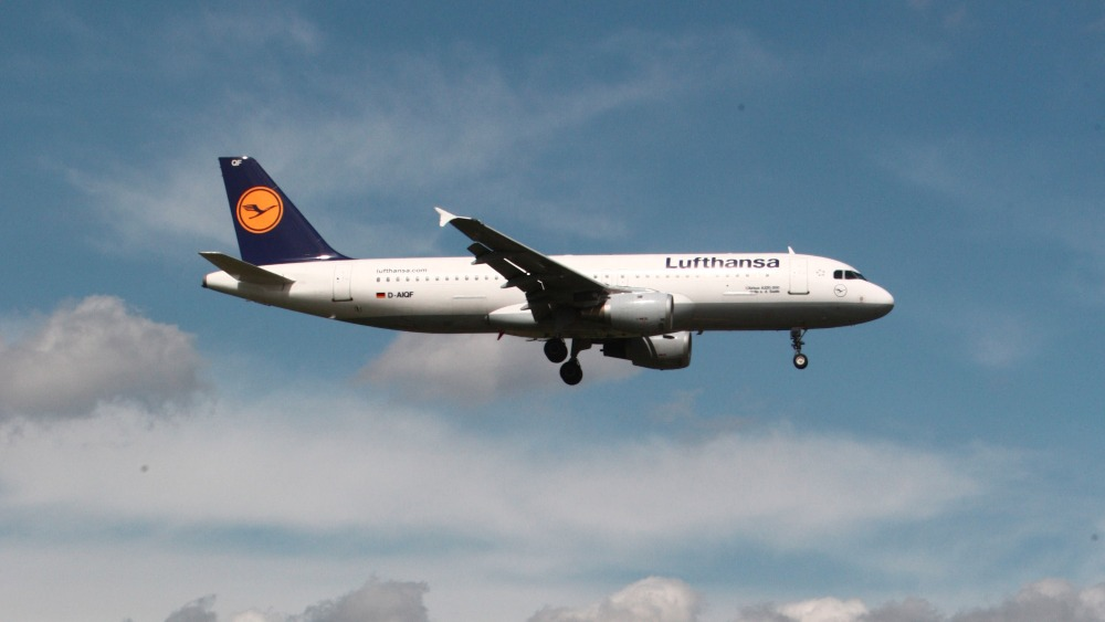Lufthansa flight cancellations due to strike action itv news for Lufthansa direct flights to germany