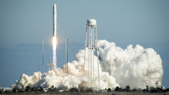 The Orbital Sciences Corporation Antares rocket