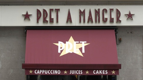 This year Pret A Manger is planning to open fifty new shops