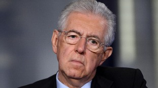 Mario Monti - still the PM.