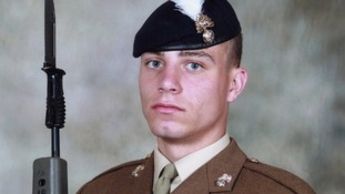 Soldier in uniform
