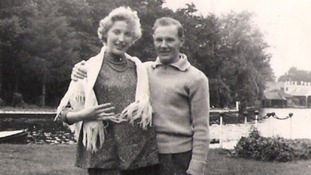 Jaqueline and Patrick (Pat) Williams in a family photo from 1957/8.