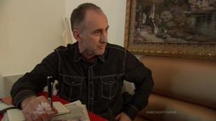 Anzor Tsarnaev speaking to NBC News