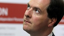 George Osborne eyeing the nation's deficit?