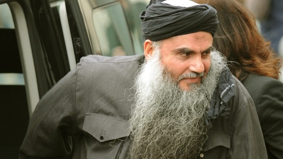 Abu Qatada pictured in November last year.