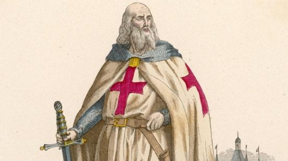 Jacques de Molay thought to be the last 'master' of the Knights Templar in the 12th century