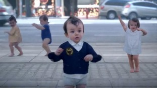 Evian hopes dancing babies can beat own viral ad record