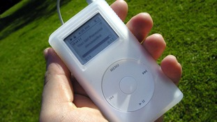 One of Apple's first iPods