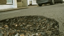 Potholes are becoming a growing safety concern