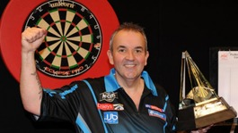 Phil Taylor is the reigning McCoy&#x27;s Premier League Darts champion