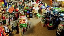 Food banks are now supplying many people across the UK on a daily basis.