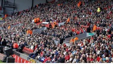 Crowd at Anfield