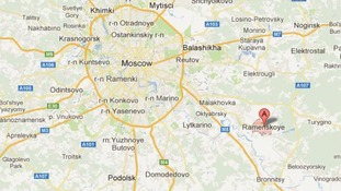 The fire broke out in the town of Ramenskoye