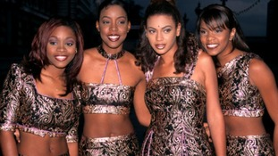 The early line-up of Destiny's Child