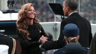 Beyonce performs for Obama's second inauguration