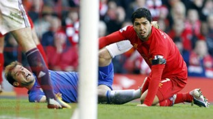 Suarez and Ivanovic
