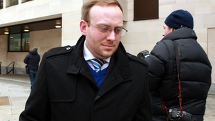 Former police sergeant James Bowes pictured outside Westminster Magistrates court in March.