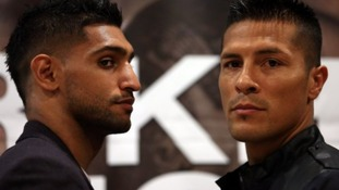 Bolton's Amir Khan prepares to take on Mexico's Julio Diaz